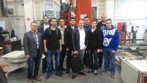 Kihelyezett oktatás egyetemisták részére az igm Robotrendszerek Kft.-nél Győrben.